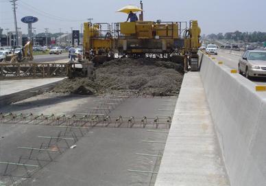 дорожный бетон фото