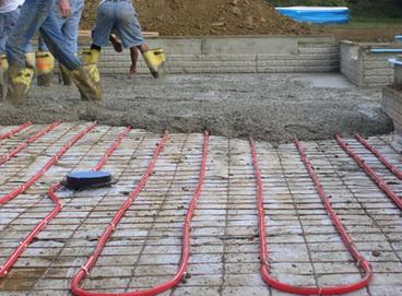 Долить бетон темно серый бетон