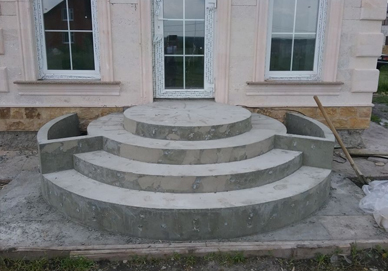 крыльца из бетона купить