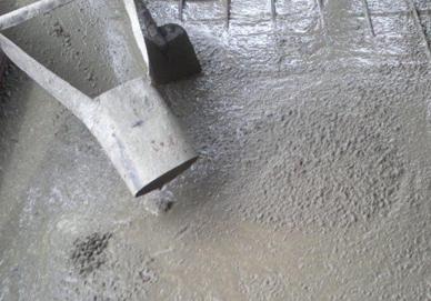Затвердение бетона что такое номер бетонной смеси